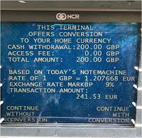 Vorsicht: Abzocke beim Bezahlen und Geldabheben im Ausland