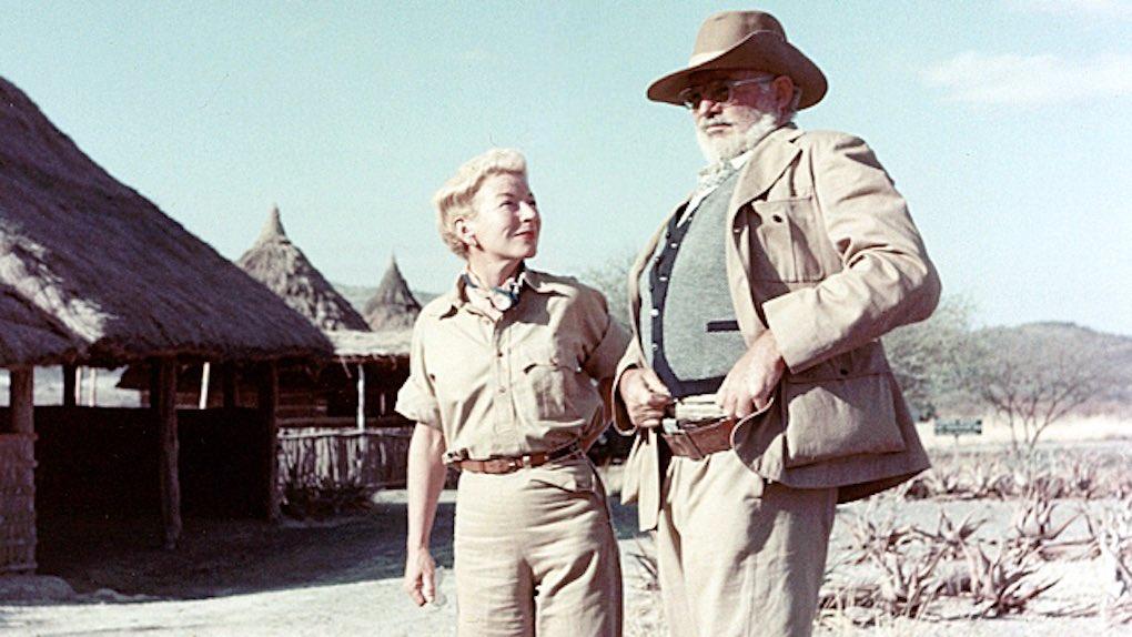Ehepaar Hemingway auf Safari