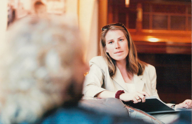 Brigitte Watermann im Gespräch mit Thomas Gottschalk
