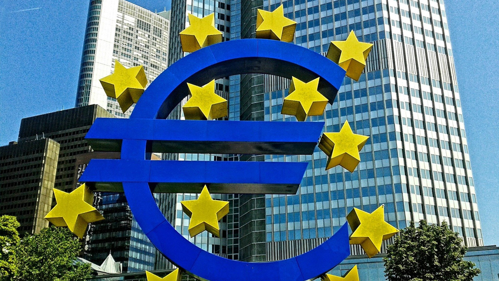 Das Gebäude der EZB in Frankfurt